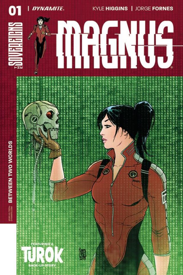 Magnus #1 (Camuncoli Cover)