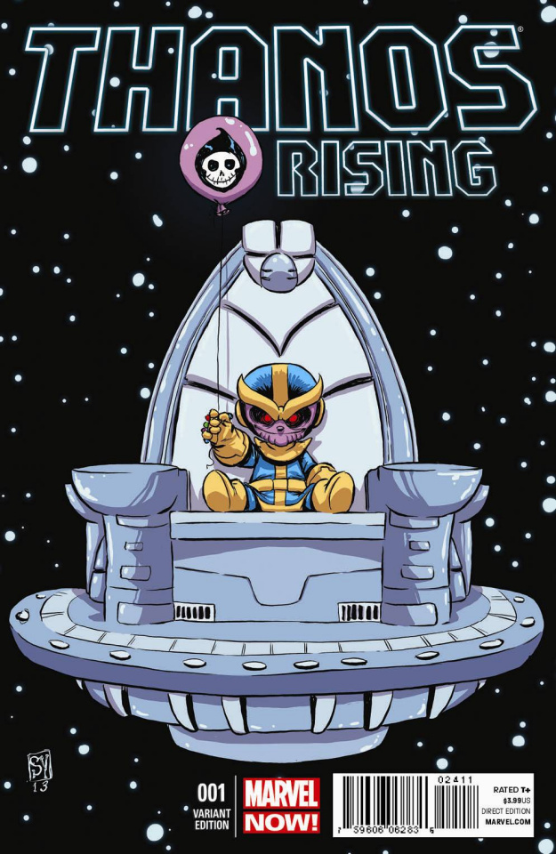 Thanos Rising #1 (Young Variant)