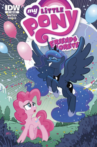 My Little Pony: Friends Forever #7 (Subscription Cover)