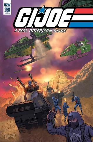 G.I. Joe: A Real American Hero #258 (10 Copy Sullivan Cover)