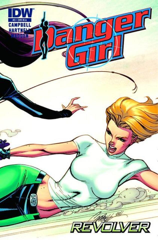 Danger Girl: Revolver #3