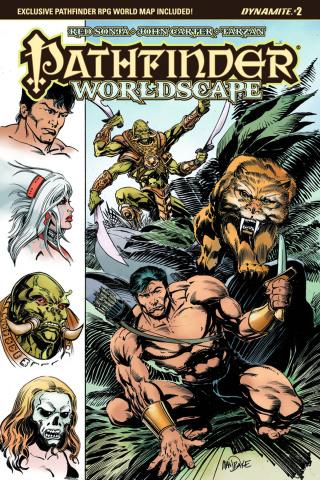 Pathfinder: Worldscape #2 (Mandrake Cover)