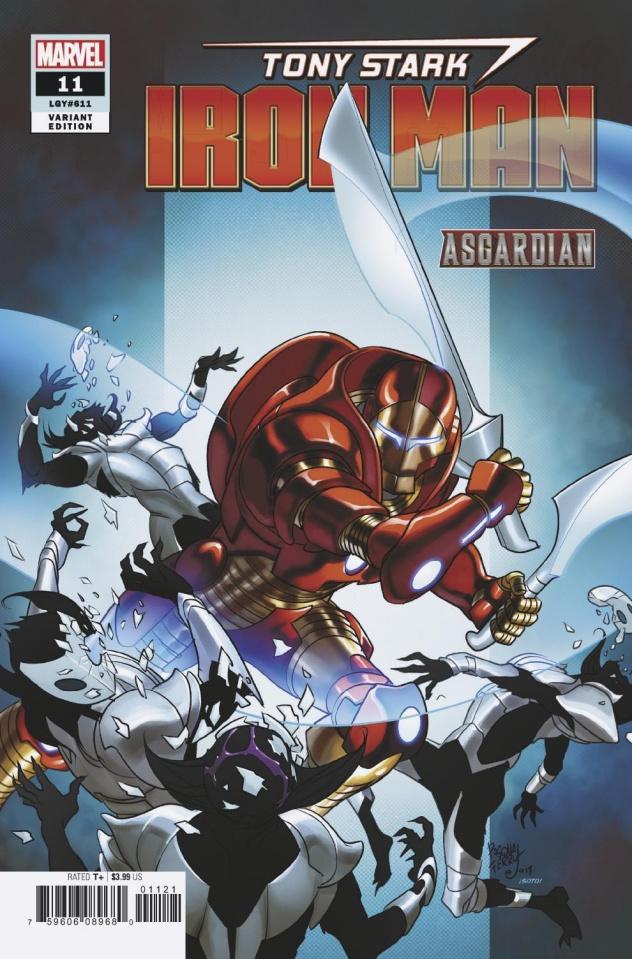 Tony Stark: Iron Man #11 (Ferry Asgardian Cover)