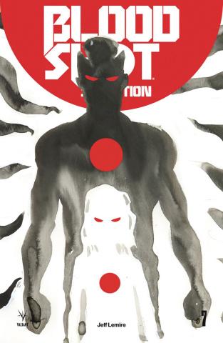 Bloodshot: Salvation #7 (Lemire Cover)