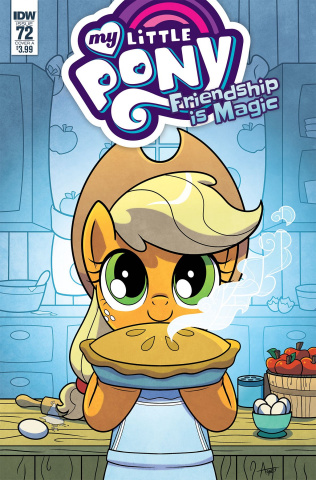 My Little Pony: Friendship Is Magic #72 (Garbowska Cover)