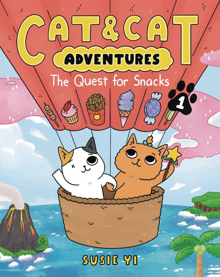 Cat & Cat Adventures Vol. 1: The Quest for Snacks