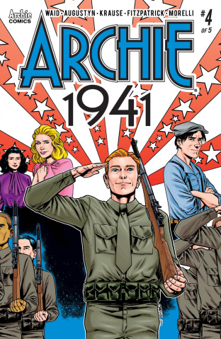 Archie: 1941 #4 (Smith Cover)