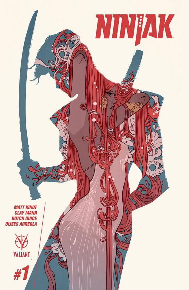 Ninjak #1 (Sauvage Cover)