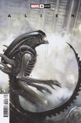 Alien #4 (Coipel Cover)