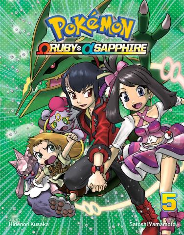 Pokémon: Omega Ruby, Alpha Sapphire Vol. 5