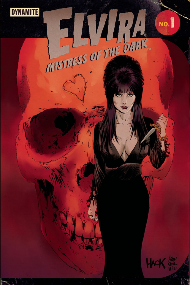Elvira: Mistress of the Dark #1 (Hack & Francavilla Cover)
