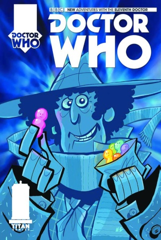 Doctor Who: New Adventures with the Fourth Doctor #1 (Baxter Cover)