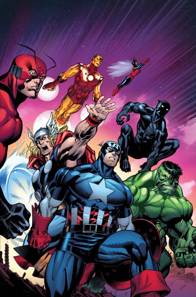 Avengers #10 (McGuinness Cover)