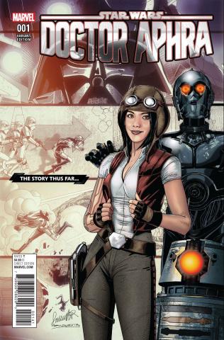 Star Wars: Doctor Aphra #1 (Larocca Story Thus Far Cover)