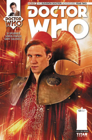 Doctor Who: New Adventures with the Eleventh Doctor, Year Two #12 (Photo Cover)