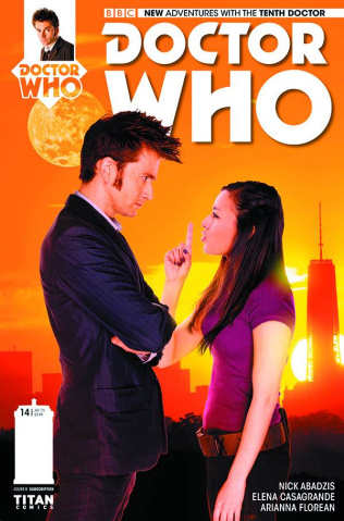 Doctor Who: New Adventures with the Tenth Doctor #14 (Subscription Photo Cover)