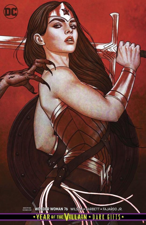 Wonder Woman #76 (Dark Gifts Cover)
