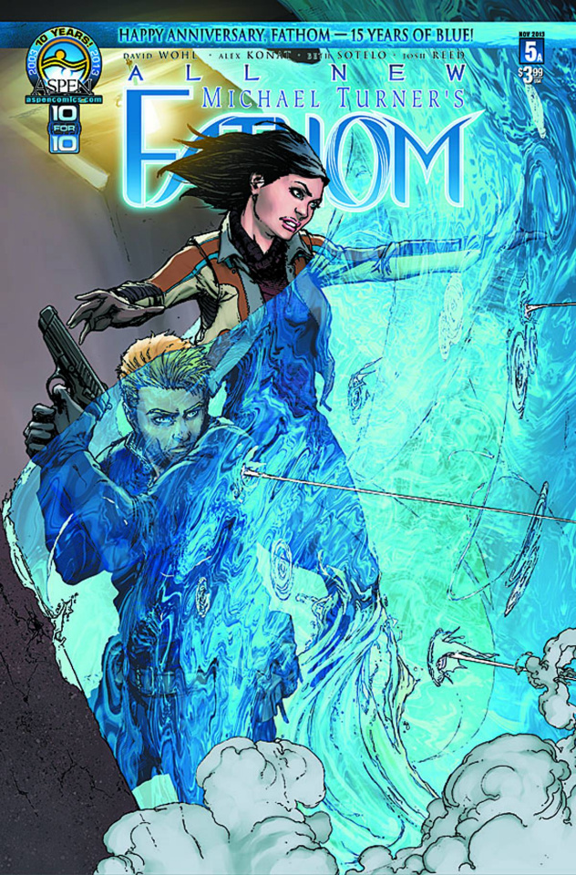 All New Fathom #5 (Cafaro Cover)