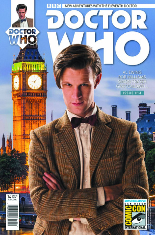 Doctor Who: New Adventures with the Eleventh Doctor, Year Two #14 (SDCC Cover)