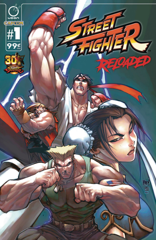 Street Fighter: Reloaded #1