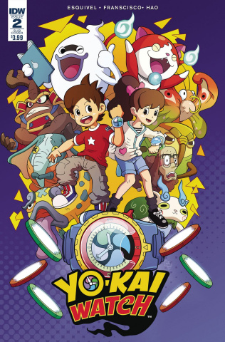 Yo-Kai Watch #2 (Subscription Cover)