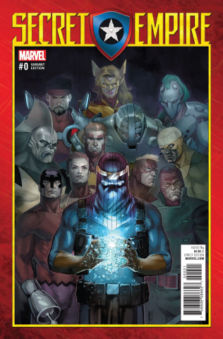 Secret Empire #0 (Reis Cover)