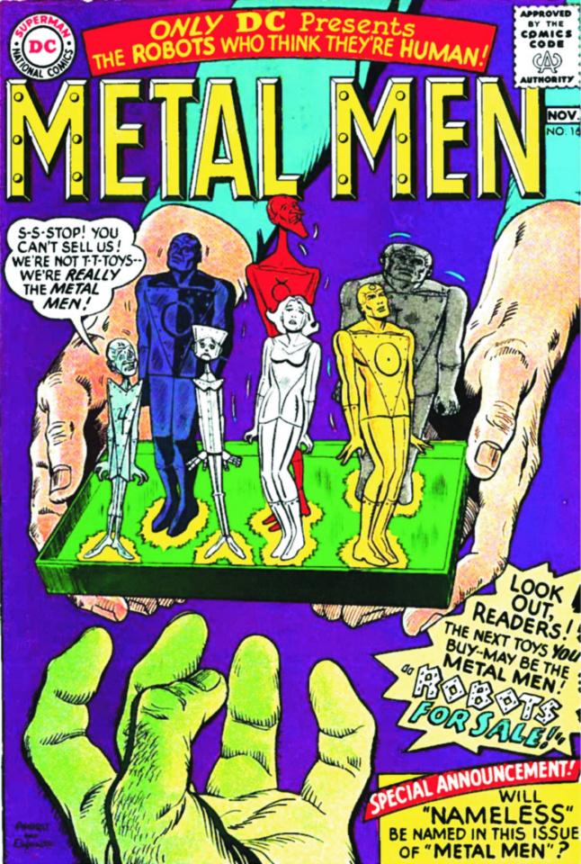 Metal Men Archives Vol. 2