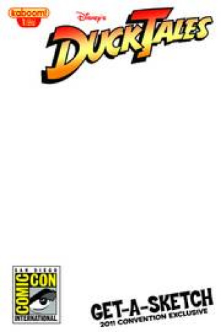 DuckTales #1 (Sketch Variant Cover)