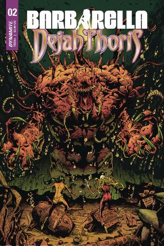 Barbarella / Dejah Thoris #2 (Hsieh Cover)