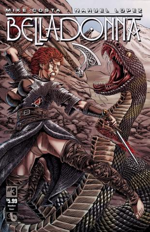 Belladonna #3 (Blood Lust Cover)