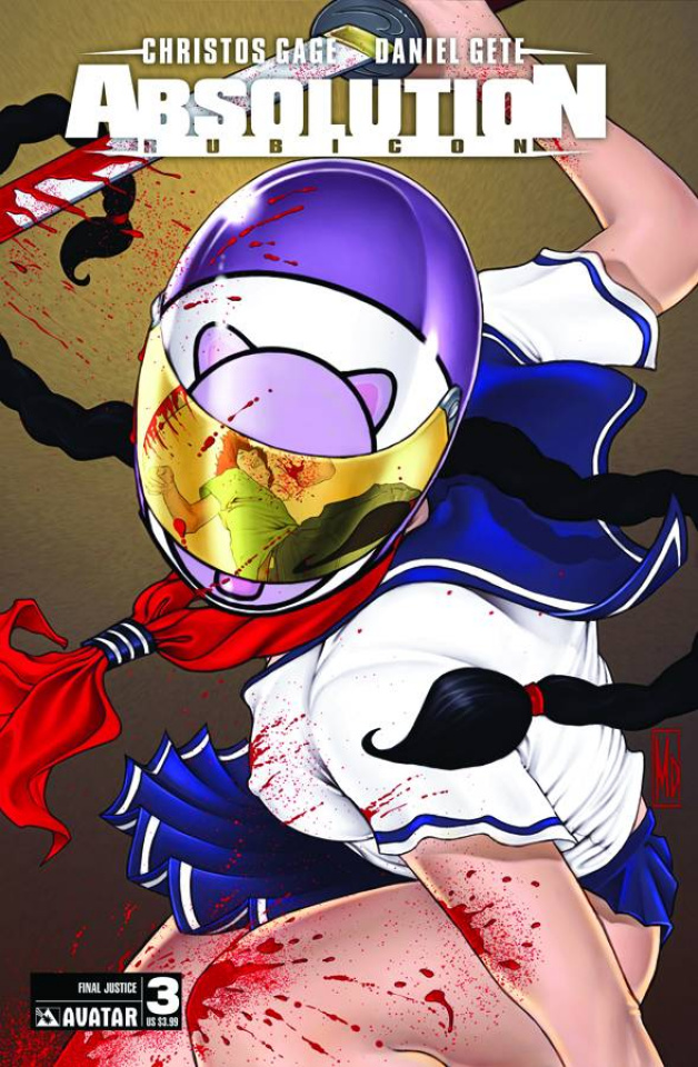 Absolution: Rubicon #3 (Final Justice Cover)