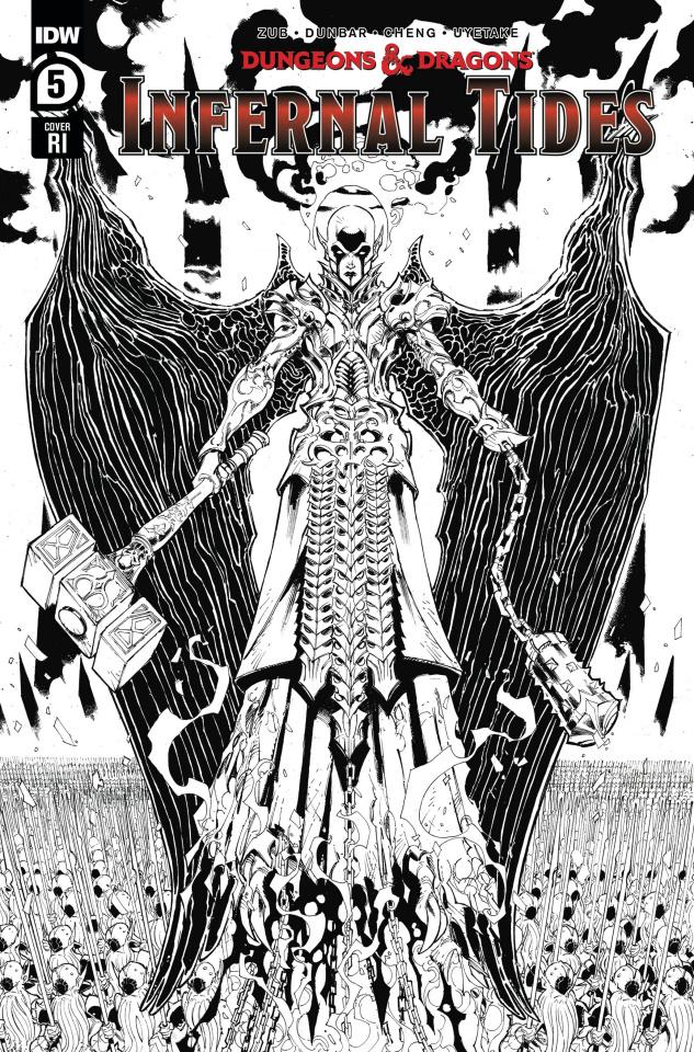 Dungeons & Dragons: Infernal Tides #5 (10 Copy Dunbar Cover)