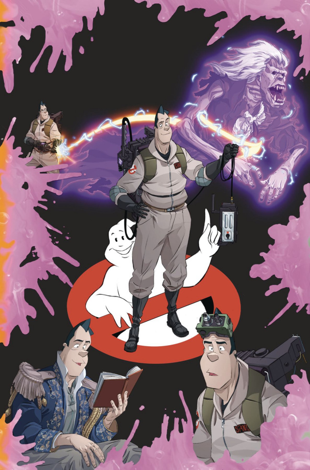 Ghostbusters: Year One #2 (Shoening Cover)