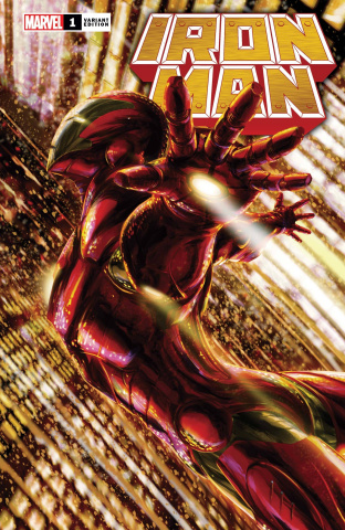 Iron Man #1 (Tenjin Cover)