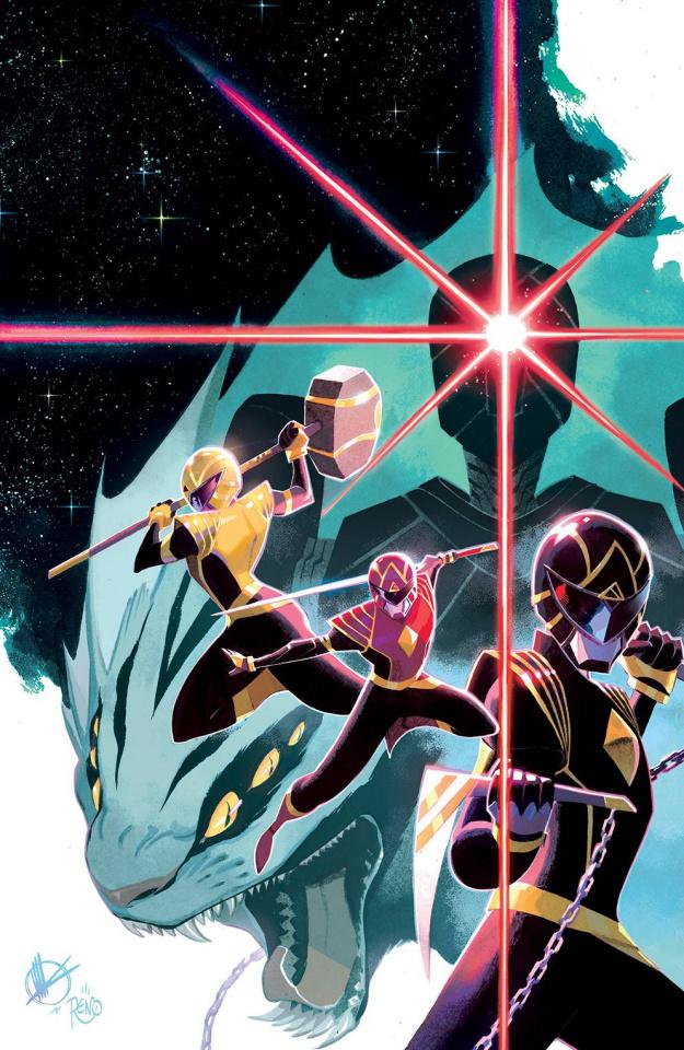 Power Rangers #1 (100 Copy Scalera Cover)