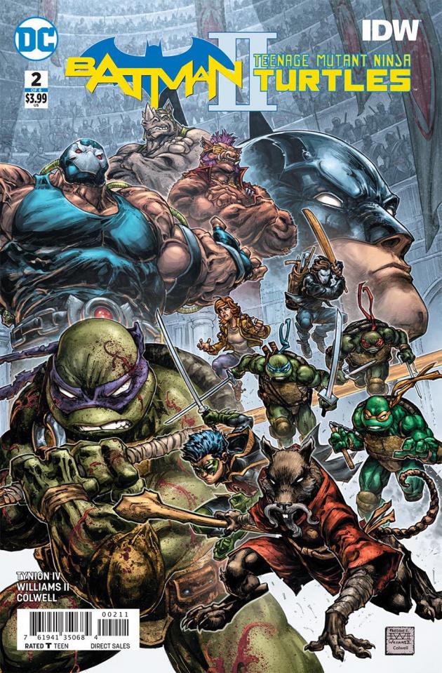 Batman / Teenage Mutant Ninja Turtles II #2