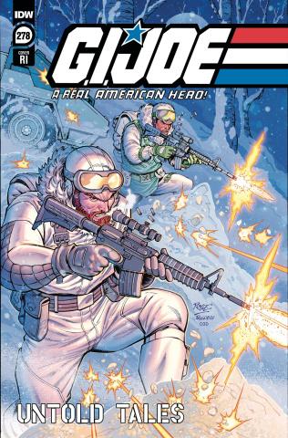 G.I. Joe: A Real American Hero #278 (10 Copy Royle Cover)