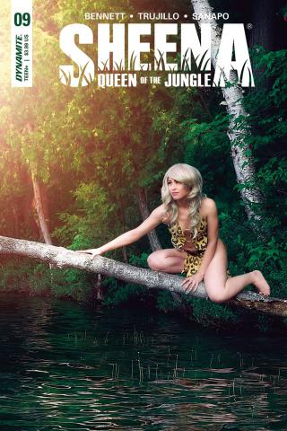 Sheena #9 (Cosplay Cover)
