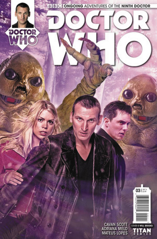 Doctor Who: New Adventures with the Ninth Doctor #3 (Photo Cover)