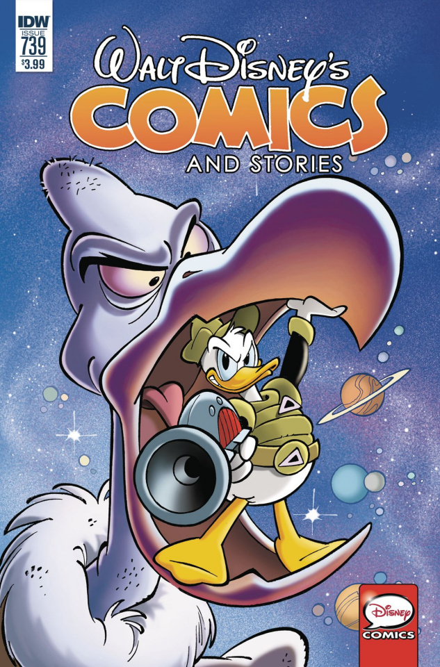 Walt Disney's Comics and Stories #739 (Fecchi Cover)