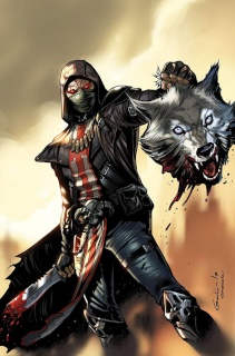 Grimm Fairy Tales: Red Agent #2 (Galindo Cover)