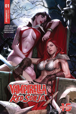 Vampirella / Red Sonja #1 21 (Copy Lee Cover)