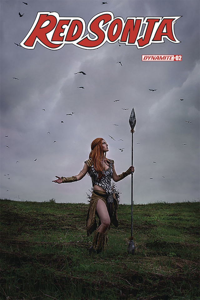Red Sonja #2 (Cosplay Cover)