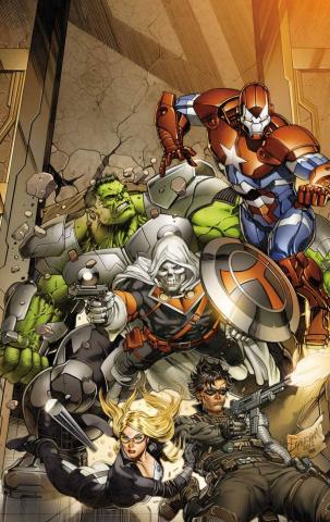 Secret Avengers #3 (Eaglesham Variant)