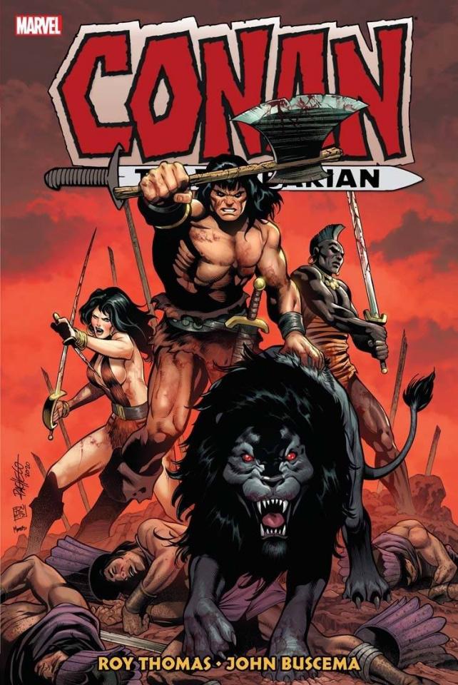 Conan the Barbarian: The Original Marvel Years Vol. 4 (Omnibus)