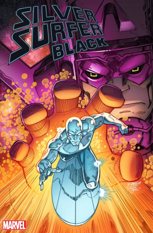 Silver Surfer: Black #1 (Ron Lim Cover)