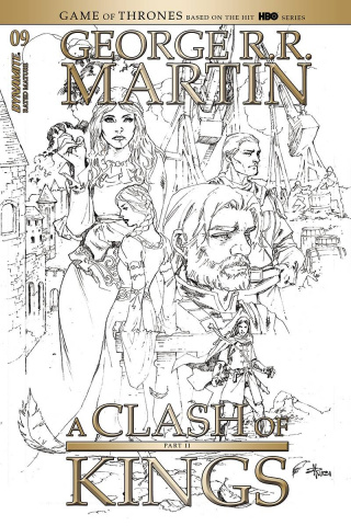 A Clash of Kings #9 (20 Copy Rubi B&W Cover)