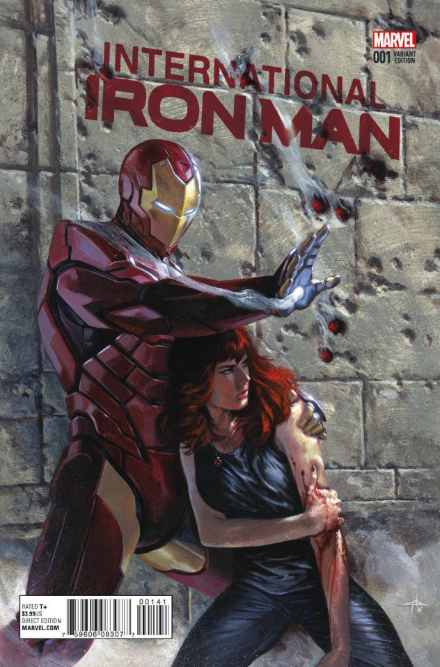International Iron Man #1 (Dell'otto Cover)