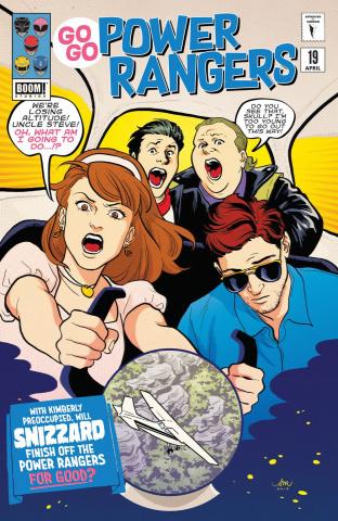 Go, Go, Power Rangers! #19 (Preorder Mok Cover)