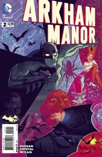 Arkham Manor #2 (Variant Cover)